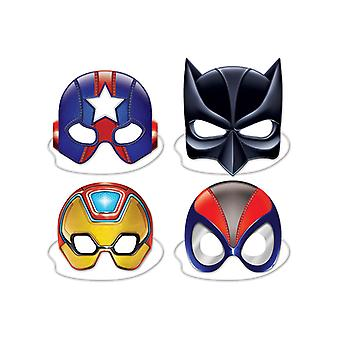 Deluxe superhjälten masker