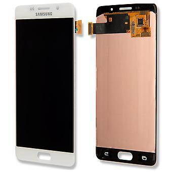 ЖК дисплей полный набор GH97 18250A белый Samsung Галактика A5 A510F 2016