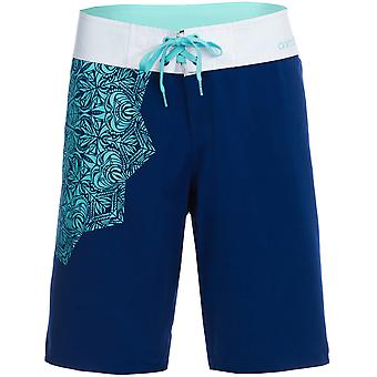 Animal Aloha June Mid Length Board Shorts in Sailor Blue