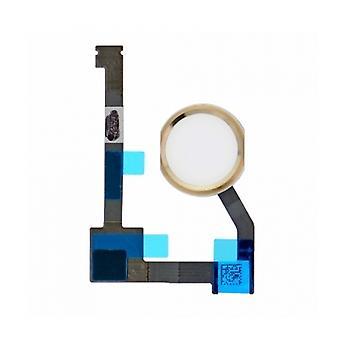 White/Gold Home Button Flex For iPad Air 2/Mini 4/Pro 12.9