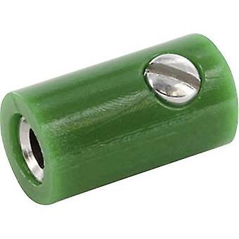 ECON-aansluiting HOKGN Jack Connector, rechte Pin diameter: 2.6 mm groen 1 PC('s)