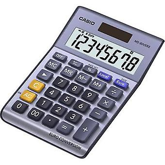Casio MS-80VERII Desk calculator Purple-grey Display (digits): 8 solar-powered, battery-powered (W x H x D) 103 x 29 x 147 mm