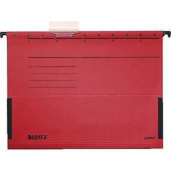 Leitz suspensjon perm Alpha a4 rød 5 stk/pakke. 19863025 1-pakning