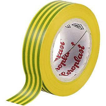 Coroplast 302 302 Electrical tape Green-yellow (L x W) 10 m x 15 mm 1 Rolls
