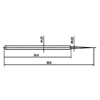 PTR 1025/E-BST-1.5N-AU-0.62 Precision test tip