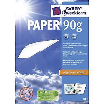 Avery-Zweckform PAPER Inkjet + Laser 2563 Universal printer paper A4 90 g/m² 500 sheet White