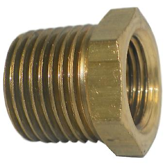 "Big A Service Line 3-21086 Inverted Male Tube Connector 1/2"" x 3/8"""