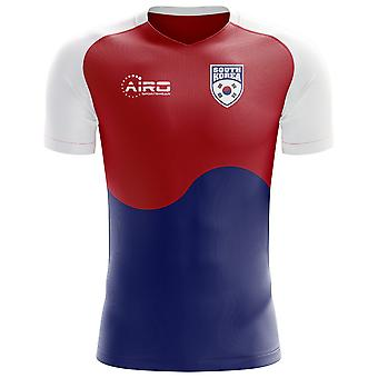 2020-2021 South Korea Flag Concept Football Shirt (Kids)