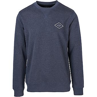 Rip Curl Essential Surfers Crew Sweatshirt dans Night Sky Marle