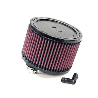 K&N RA-0470 Universal Clamp-On Air Filter: Round Straight; 2.063 in (52 mm) Flange ID; 4 in (102 mm) Height; 5.875 in (1