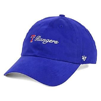 Texas Rangers MLB 47 Brand Cohasset Adjustable Hat