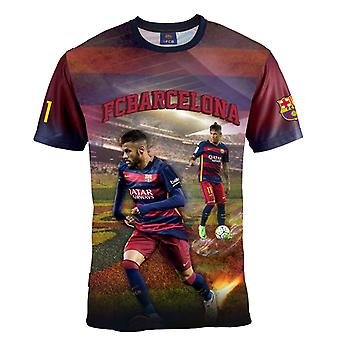 Barcelona t-shirt Neymar alder 8 år