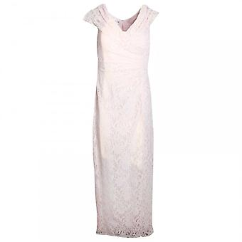 Veromia Occasions Full Length Sleeveless Lace Dress