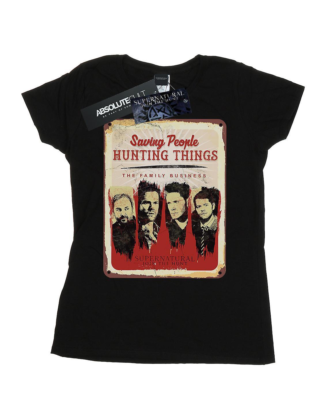 Supernatural Women's Family Business Sign T-Shirt