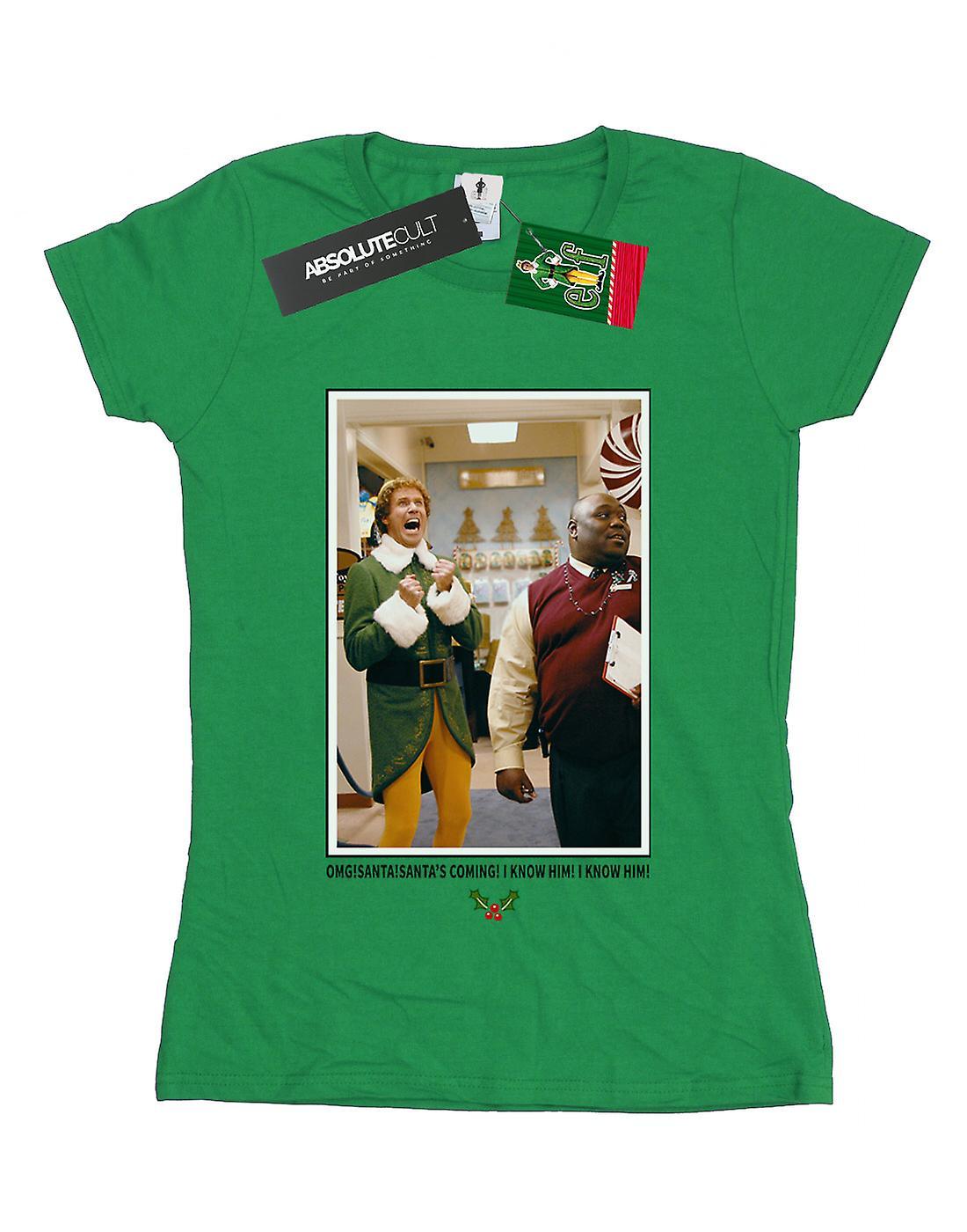 Elf Women's OMG Santa Photo T-Shirt