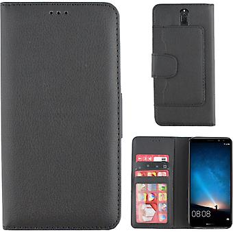 Colorfone lommebok Huawei mate 10 lite lommebok veske svart