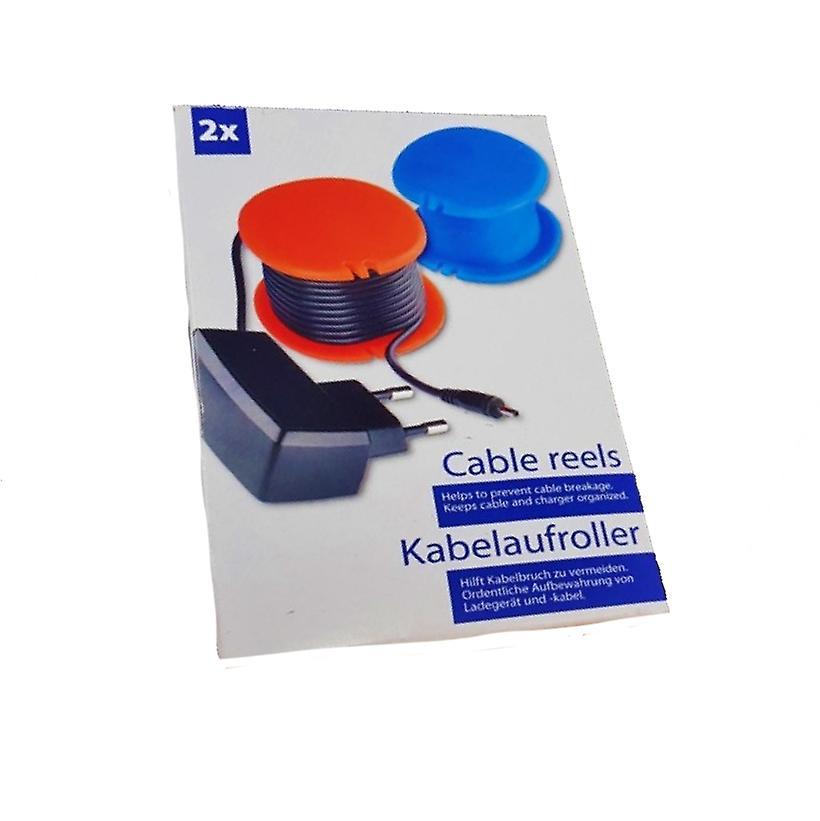 Kabelhjul / Kabelhållare 2-pack