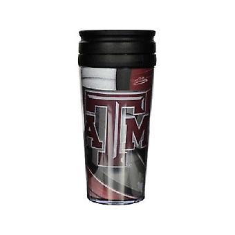 Texas A & M Aggies NCAA aislados vaso de viaje