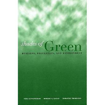Schattierungen von Grün - Business - Verordnung- und Umwelt durch Dorothy T