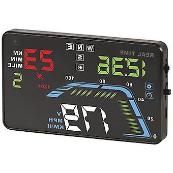 TechBrands 12/24VDC رئيس متابعة عرض GPS