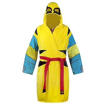 Wolverine Cotton Hooded BathrobeYellow