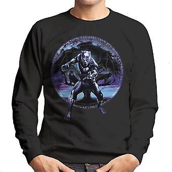 Marvel Black Panther Tree Montage Men's Sweatshirt