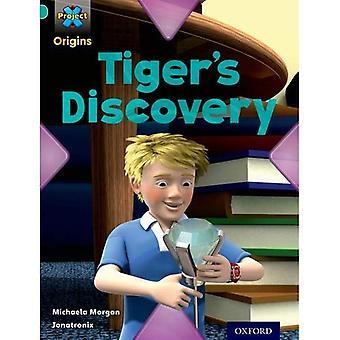 Origines du projet X: Livre Turquoise bande, Oxford niveau 7: découverte: découverte du tigre