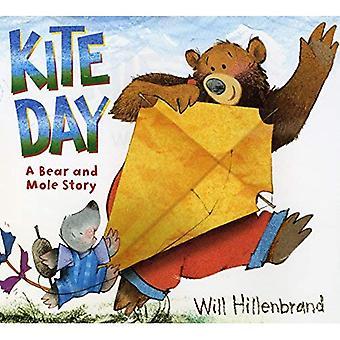 Journée de kite: Un ours et livre taupe