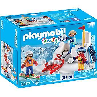 Playmobil 9283 Snowball Fight actionfigur,