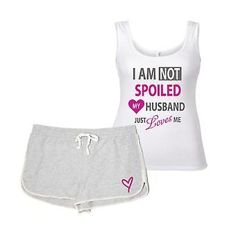 Ich bin nicht verwöhnt, mein Mann liebt mich Pyjama-Set