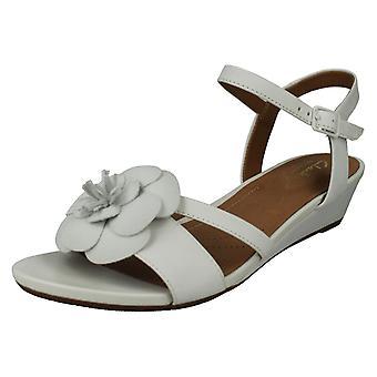 Ladies Clarks Smart Wedge Sandals Parram Stella