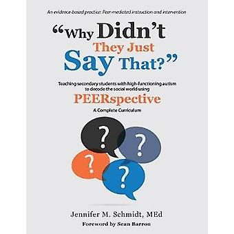 Why Didn't They Just Say That? - Teaching Secondary Students with High