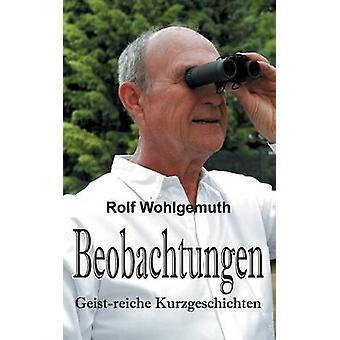 Beobachtungen av Wohlgemuth Dr & Rolf