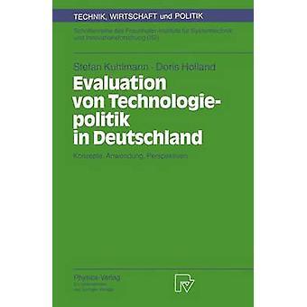 Utvärdering von Technologiepolitik i Deutschland Konzepte Anwendung perspektiv av Kuhlmann & Stefan