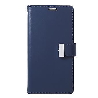 Mercury GOOSPERY Rich Diary till Samsung Galaxy S10+ - MörkBlå