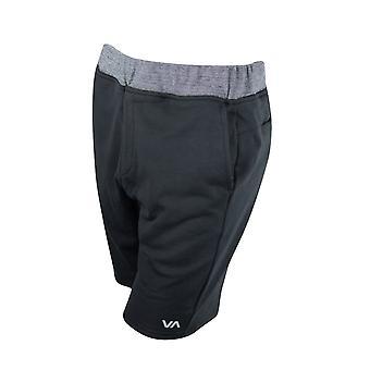 RVCA Mens Escobar Sport Shorts - schwarz/grau