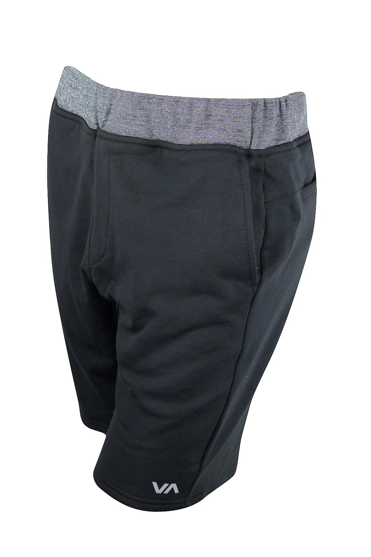 RVCA Mens Escobar Sport Shorts - Black/Gray