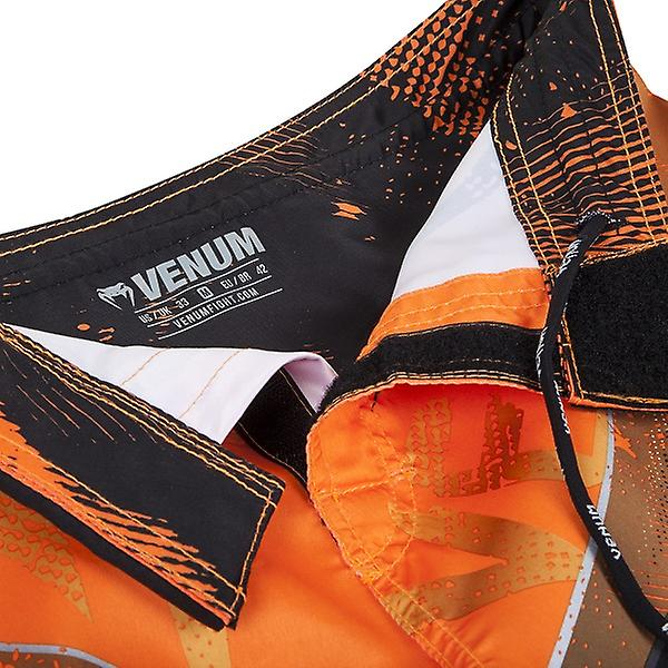 Venum Mens Galactic kjempe Shorts - Neo Orange - bjj mma ufc