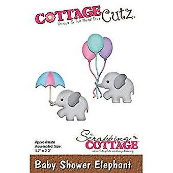 Scrapping Cottage CottageCutz Baby Shower Elephant