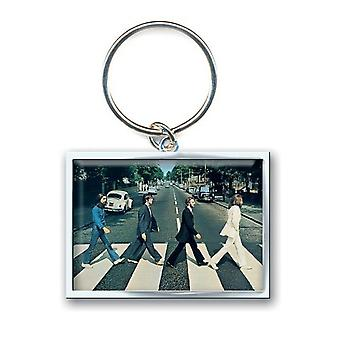 The Beatles Keyring Keychain Abbey Road Crossing phote new Official