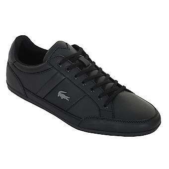 Lacoste Hombres 2020 Chaymon BL 1 CMA Classic Durable Leather Comfort Trainers