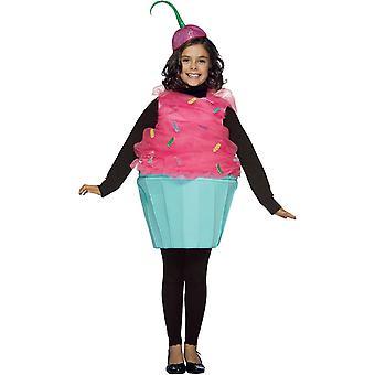 Söta Cupcake barn kostym