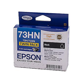 Epson 73HN HY Black Twin Pack