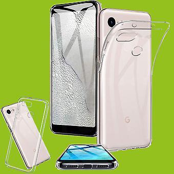 For Google Pixel 3a XL Silicone Case Transparent Case Case Protection Cover Case
