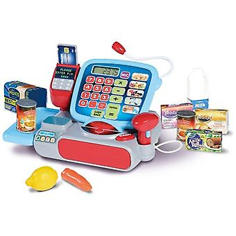 Casdon Little Shopper Supermarket Till Pretend Shopping Toy With Chip and Pin