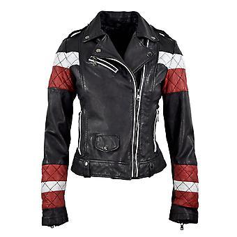 Women's leather jacket Scarlett