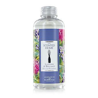 Ashleigh & Burwood Profumo Casa Reed Diffusore Bottiglia di ricarica 150ml Casa Fragranza Lavanda & Bergamotto