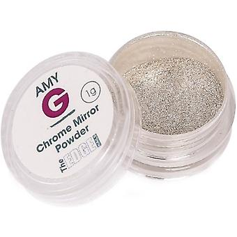 The Edge Nails Amy G - Mirror Pigment Nail Art Powders - Cromo 1g (3003017)