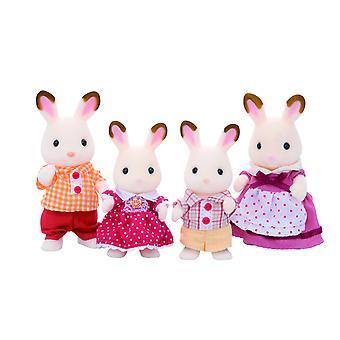Sylvanian familier chokolade kanin familie