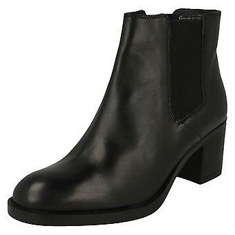 Ladies Clarks Smart Heeled Ankle Boots Mascarpone Bay